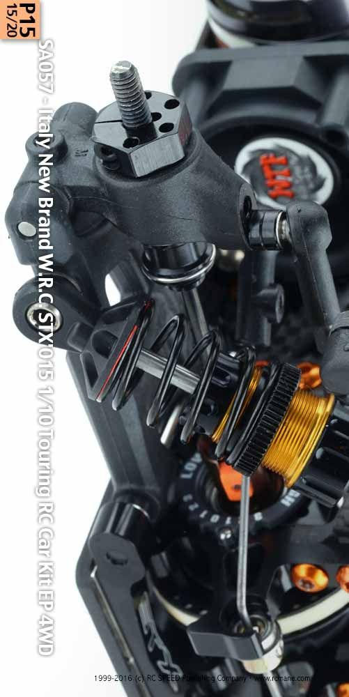 SA057 - Italy New Brand W.R.C. STX'015 1/10 Touring RC Car Kit EP 4WD (www.rcmane.com) Supplier by: Harmony Model Co (https://www.facebook.com/Harmony-Model-Company-330432490387180/) HK Retailer: BORDERSS (borderss@gmail.com) Body painted by PD