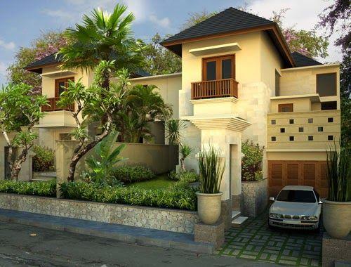 Kumpulan Desain Arsitektur Rumah Bali Untuk Rumah Hunian - Desain Rumah Minimalis
