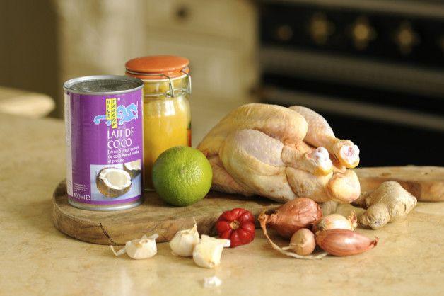 Курица карри (диетическая и обычная)