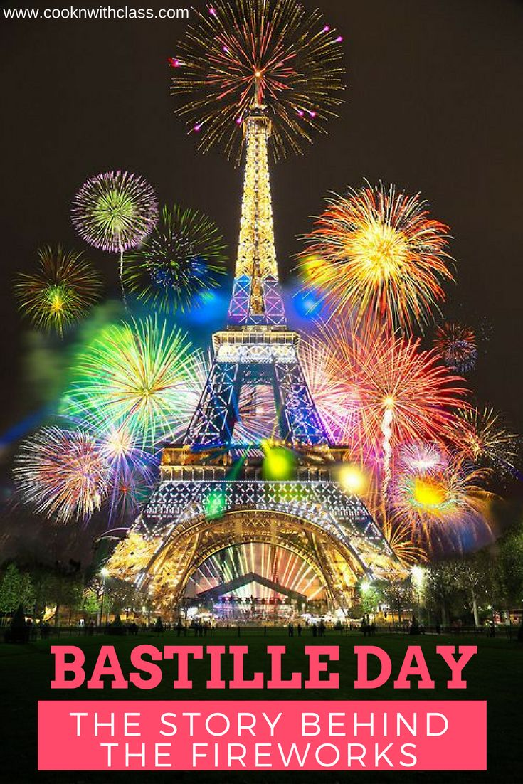While the last time that France saw fireworks on New Year's Eve in Paris was back in 2000, to my recollection, there has not been a Bastille Day without the skies being lit up. But what is this about. What are we celebrating. To be honest, even some French people seem to debate this. Read more: www.cooknwithclass.com