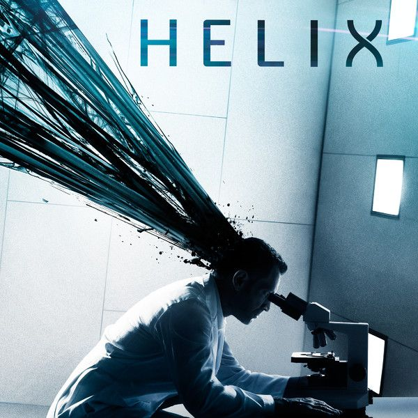 """Helix""----- tv show on the Syfy channel. Crazy & claustrophobic, ""oooowe gooey"" zombie-esque show set in an isolated medical research lab in the Arctic"