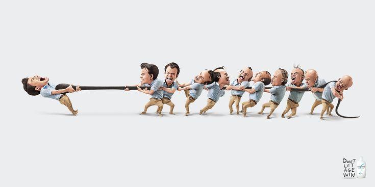 「年齢と戦おう!」育毛シャンプーのユーモアあふれる広告 | AdGang