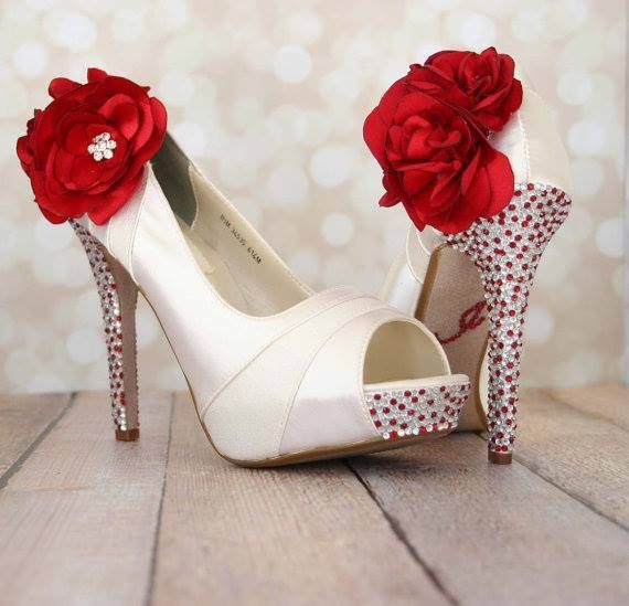 Pin By Aixa Medina On Shoes Peep Toe Wedding Shoes Unique