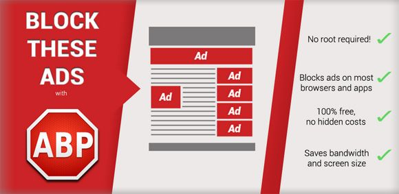 Adblock Plus : surf the web without ads