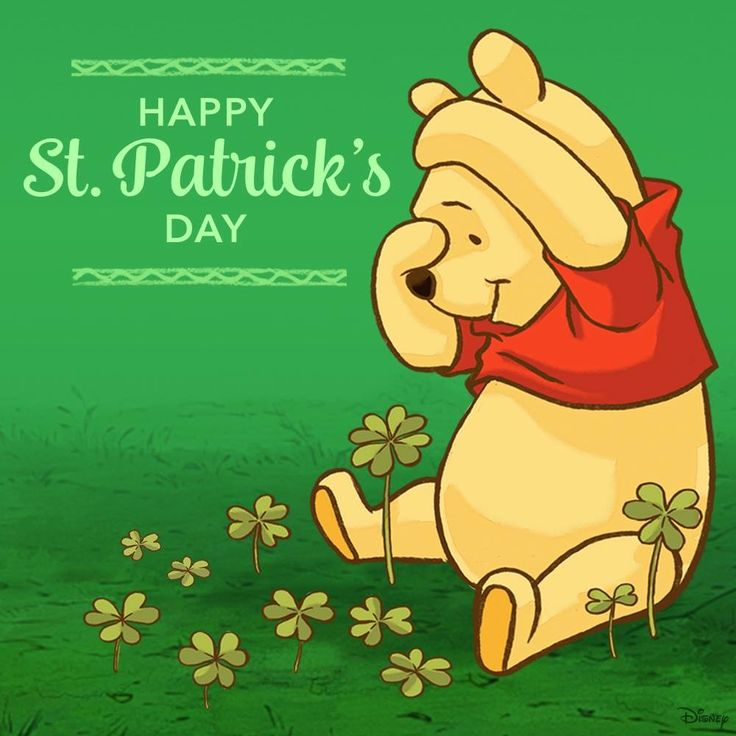 115 best images about winnie the pooh on pinterest - Disney st patricks day images ...