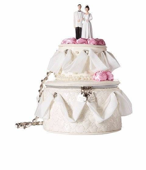 wedding cake bag nwt blue by betsey johnson wedding cake purse shoulder bag 21775