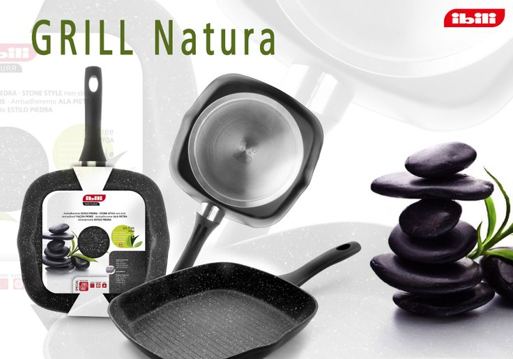 NATURA. It´s a wonderfull grill. It´s hard stone resistant and stone stile non-stick. It´s special induction. We love it!
