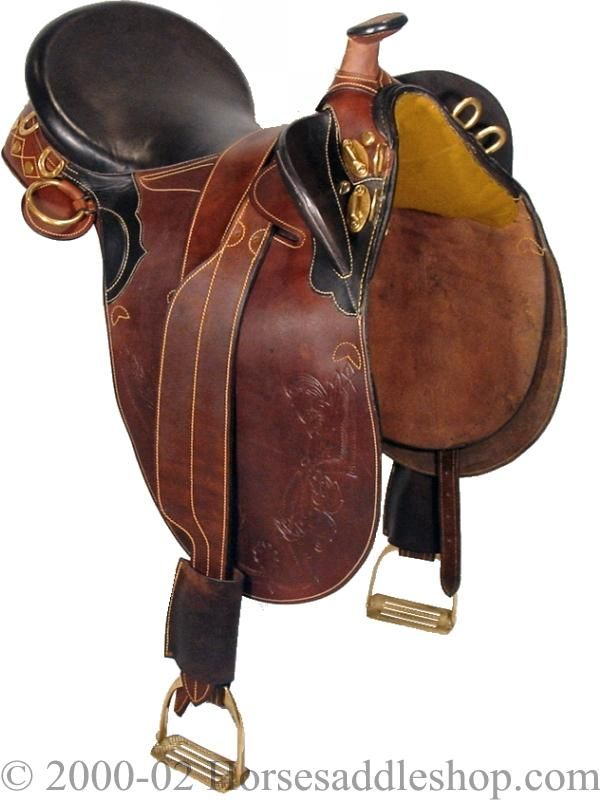 Stockman Bush Rider Australian Saddle