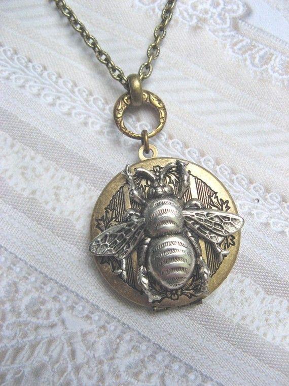 queen bee locket