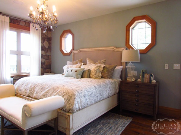 Jillian Harris' PNE Prize Home: Bedroom #bedroom #homedecor #jillianharris