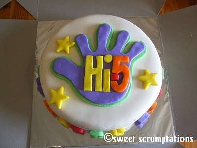 Made a cake like this for A's birthday