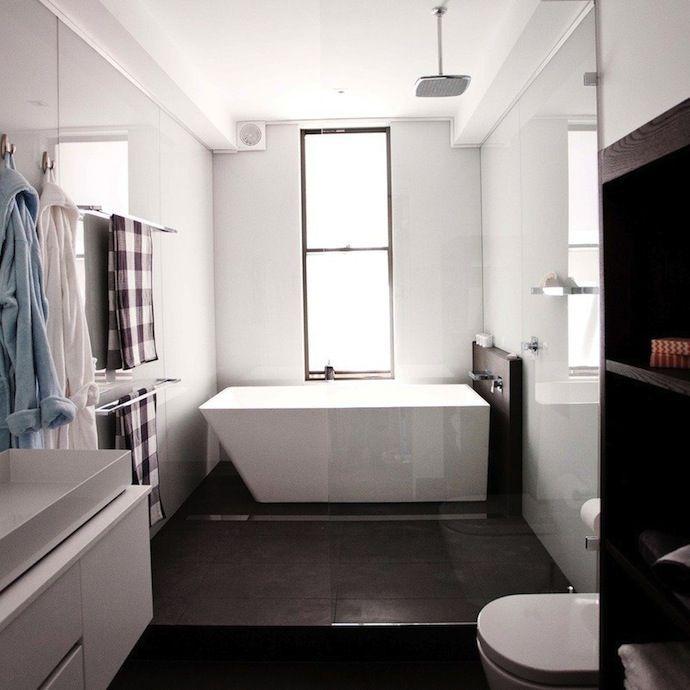 Interesting Bath Bathroom White Natural Pinterest