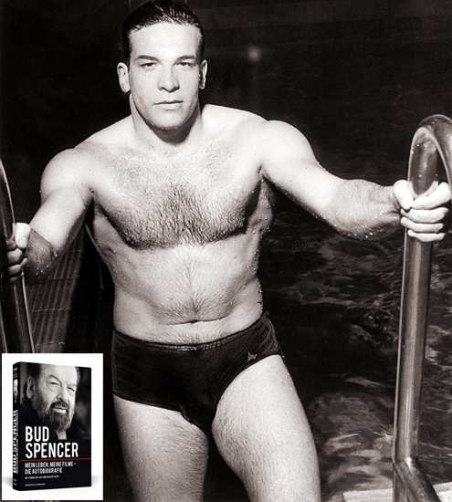 actor bud spencer when he was a professional swimmer