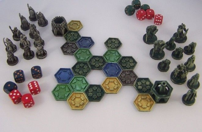 Pocket Tactics, the first open source miniatures game designed to be manufactured on a 3D printer #3dprinterbusiness #3dprintingbusiness