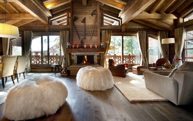 décoration intérieur chalet montagne : 50 idées inspirantes, Innenarchitektur ideen