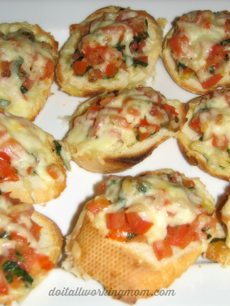 Fresh Tomato and Basil Bruschetta Recipe - Do It All Working Mom