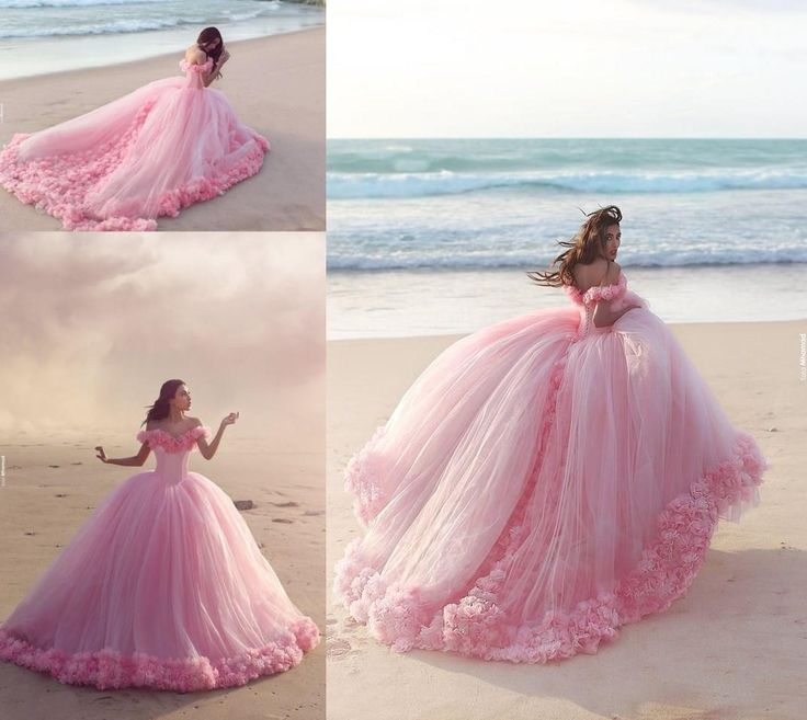 Actual Image Coral Quinceanera Dresses Vestidos De 15 Anos Pearls Tulle Lace Sweet 16 Dress Cheap Prom Ball Gowns 2016 Vestidos Cheap White Dresses Dama Dresses From Ilovewedding, $172.87| Dhgate.Com