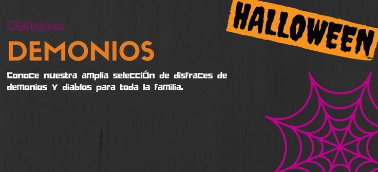 Disfraces de Demonios y Diablos para Halloween #blog #tienda #disfraces #online #carnaval #halloween