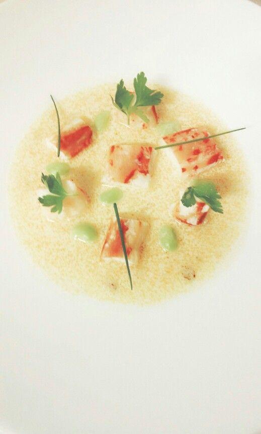 Zuppa di granchio reale, Chef Giuseppe D'agostino