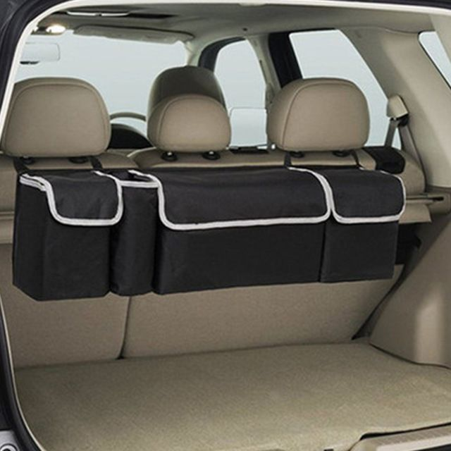 Car Organizer Trunk Backseat Storage Bag Net High Capacity Multi Use Oxford Back Interior Accessories Automobile Seat For Boat In 2020 Car Interior Accessories Cars Organization Car Seat Organizer