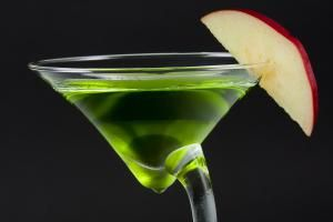 Sour Apple Martini Recipe - Photo Courtesy: Shannon Graham