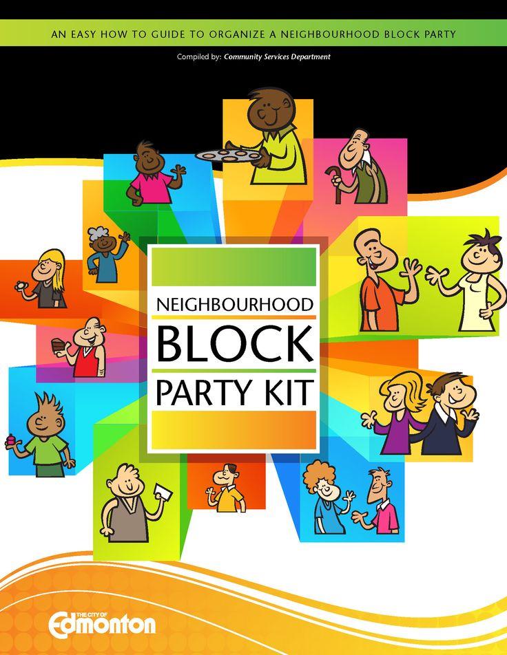 City of Edmonton Neighbourhood Block Party Kit