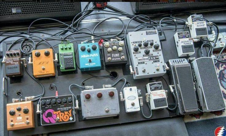 John Mayer's updated Dead & Company Pedalboard (June 2016)