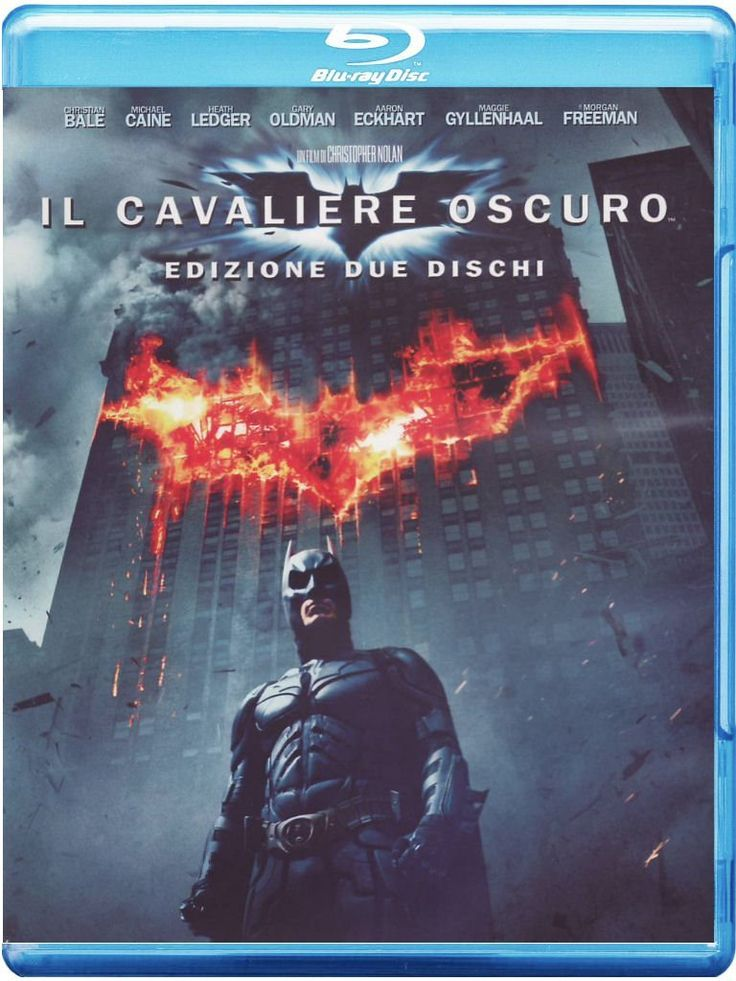 Il Cavaliere Oscuro (Special Edition) (2 Blu-Ray): Amazon.it: Christian Bale, Heath Ledger, Michael Caine, Aaron Eckhart, Gary Oldman, Maggie Gyllenhaal, Morgan Freeman, Monique Curnen, Ron Dean, Cillian Murphy, Chin Han, Nestor Carbonell, Eric Roberts, R