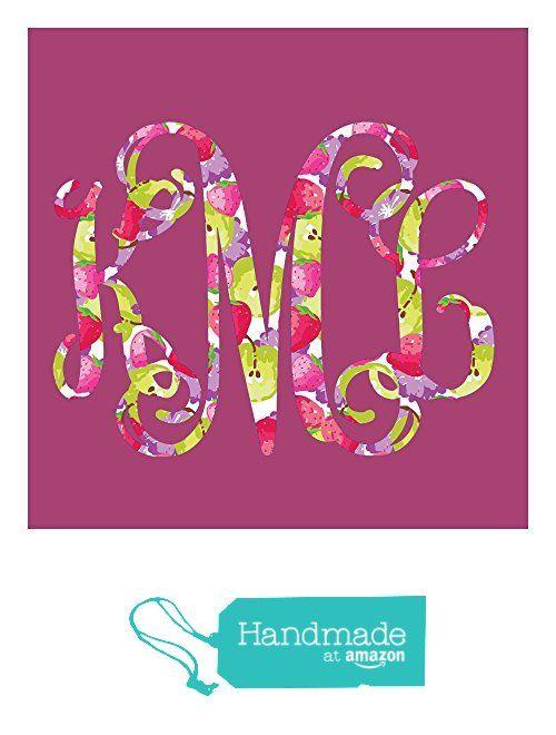 Sparkleberry Ink Berries Jubilee Vine Monogram Decal from Sage and Serendipity https://www.amazon.com/dp/B01KR2RJIQ/ref=hnd_sw_r_pi_dp_4Kd8xb1HA3DSS #handmadeatamazon