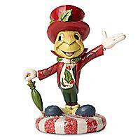 Jiminy Cricket Holiday Figure by Jim Shore