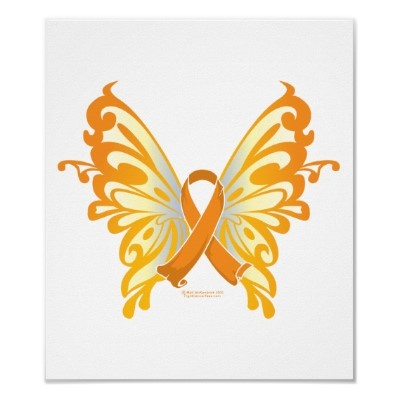 Leukemia Butterfly - possible tattoo in honor of my grandpa...