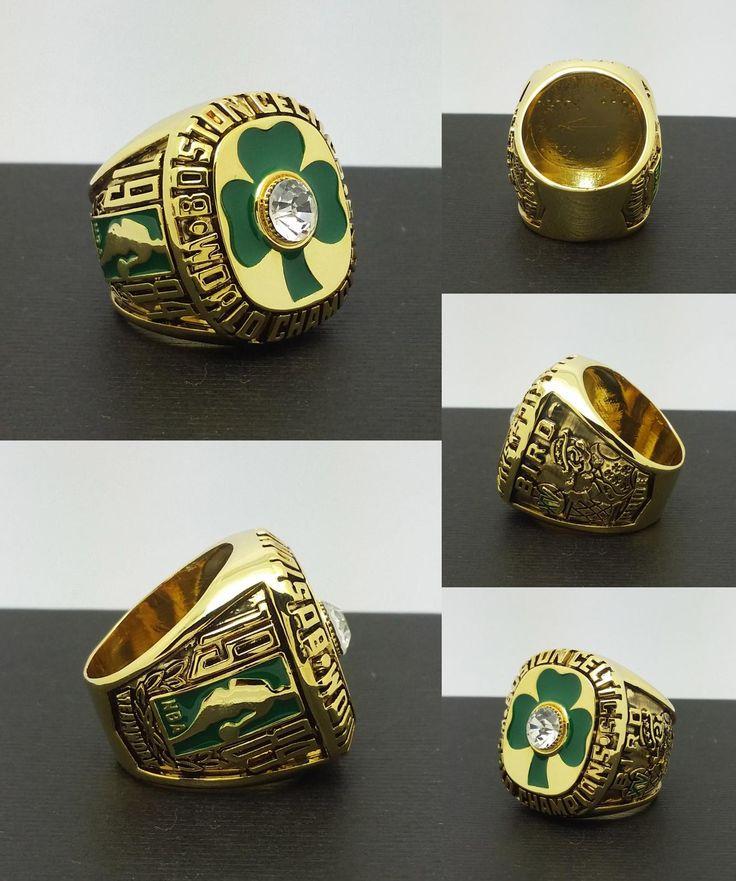 [Visit to Buy] 1984 Boston Celtics National Basketball Championship Ring 10Size 'Larry Bird' Fans Best Gift #Advertisement