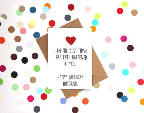 Best 25 Husband birthday cards ideas on Pinterest Diy birthday
