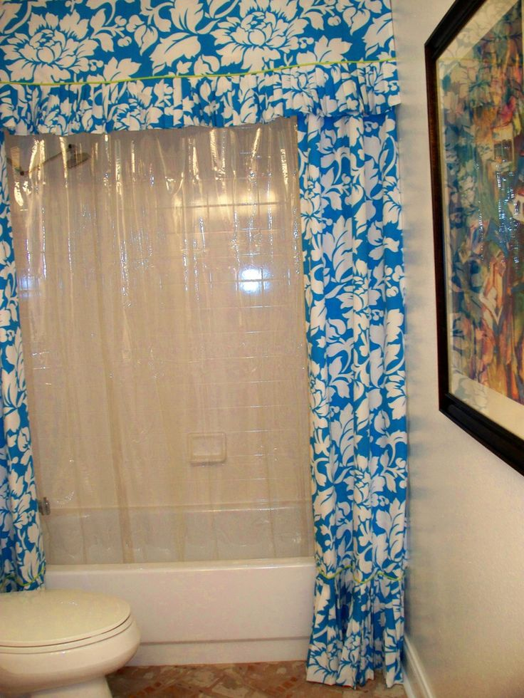 One Of A Kind Shower Curtains Part - 45: A One-of-a-kind Shower Curtain Designed By My Client. Itu0027s