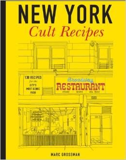New York Cult Recipes by Marc Grossman was one of the last books I bought for Sterling. I am thrilled to see it out. Jennifer Williams did a great job of Americanizing it for the US market. A great book that I have seen in a lot of stores. Glad it's making the rounds!!!