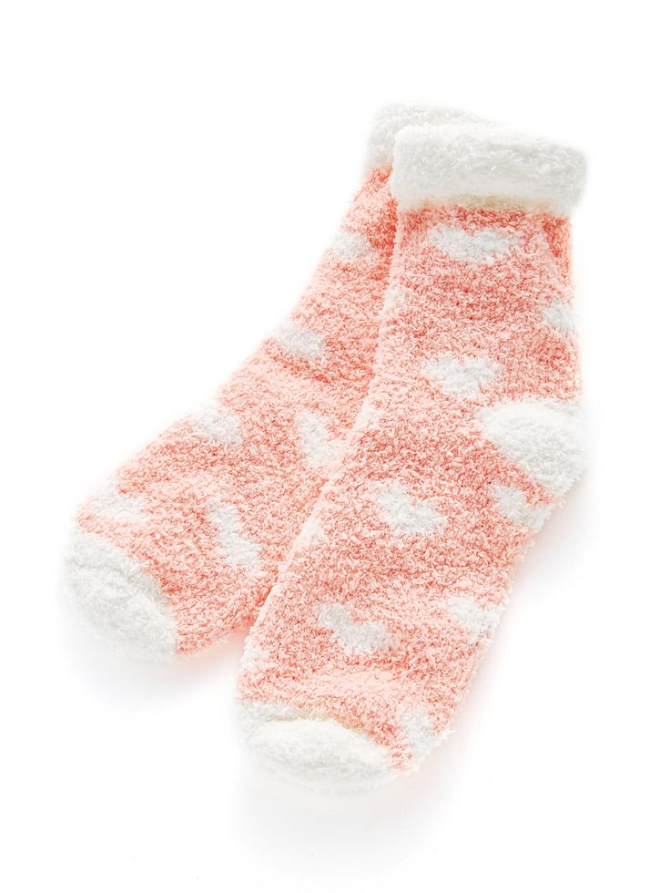 Shop Roll Up Trim Heart Pattern Socks online. SheIn offers Roll Up Trim Heart Pattern Socks & more to fit your fashionable needs.