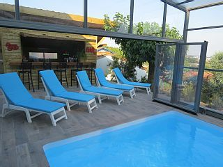 VILLA ANGLET BIARRITZ 12 PERS  2KM PLAGES, FORET ,PISCINE CHAUFFEE PRIVEE