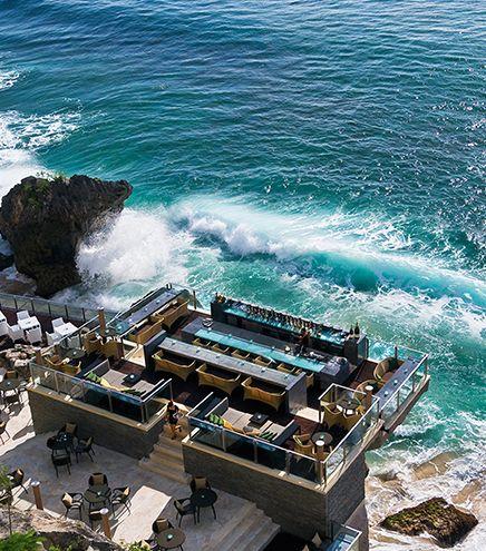 AYANA Resort and Spa Bali overlooks the private beaches of Jimbaran Bay.