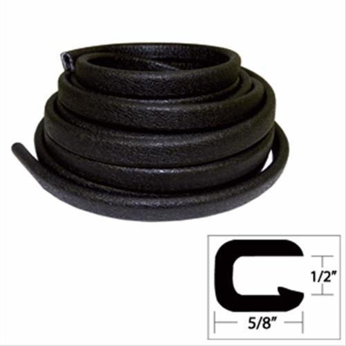 TACO Flexible Vinyl Trim - Opening x W x 25L - Black