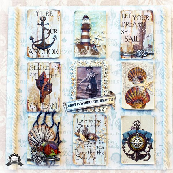 Artdeco Creations Brands: Sea Breeze Sampler by Sue Smyth #seabreeze #couturecreationsaus