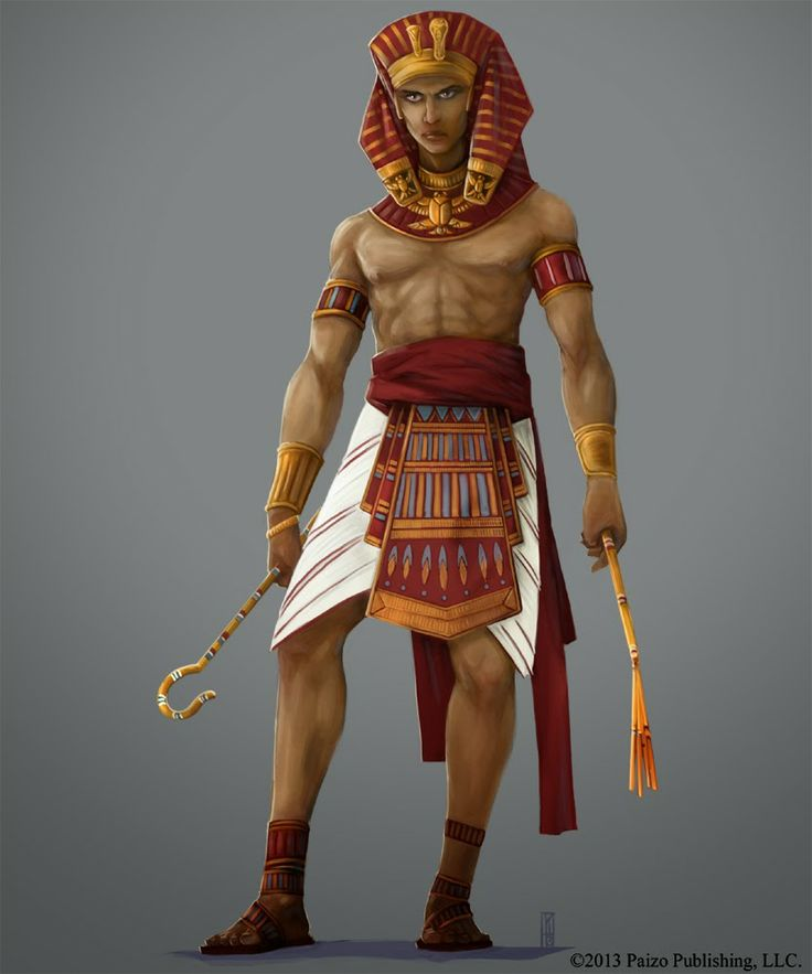 картинки египетского воина колодца