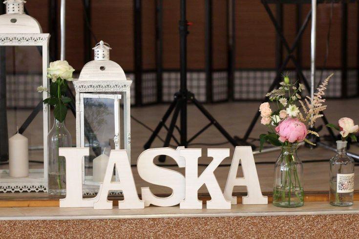 Výzdoba svadobnej hostiny Katky & Juraja