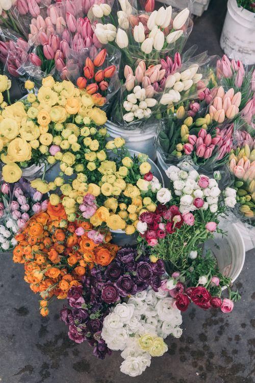 Gal Meets Glam San Francisco Flower Mart