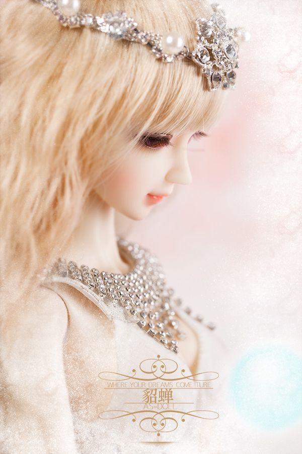 bjd娃娃,as天使工房,貂蟬,DL314031-淘寶網全球站 | Crown jewelry, Beautiful dolls, Cute dolls