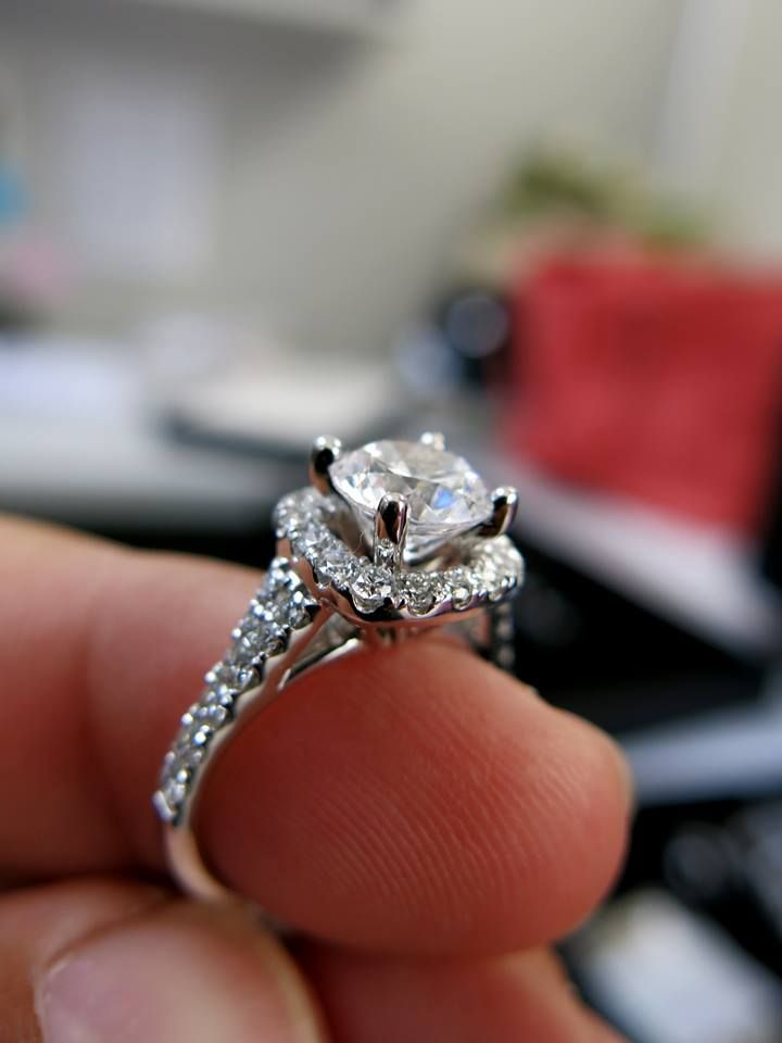 #Scott #Kay #diamond engagement ring