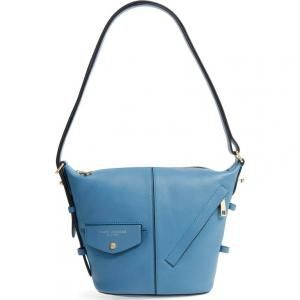 Marc Jacobs Vintage Blue Leather The Mini Sling Convertible Hobo Bag - 30% Off