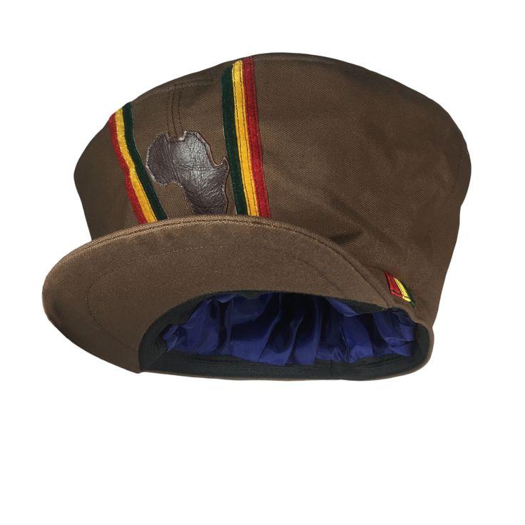 Rasta Hat Cap Selassie Africa Jah Rastafari Handmade Reggae Jamaica Negus XL/XXL