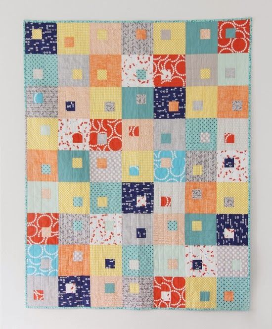 Juice Boxes Quilt, Cluck Cluck Sew