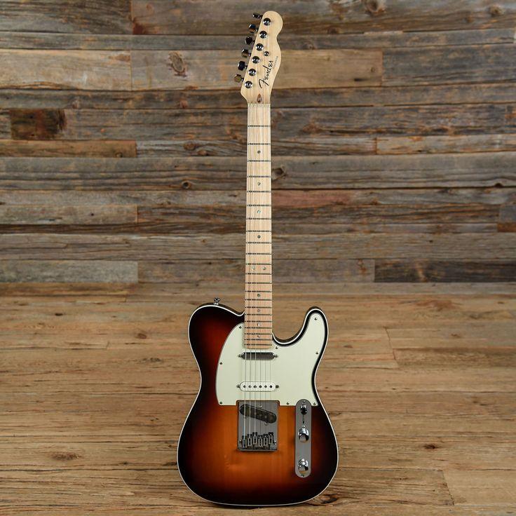 2008 Fender American Deluxe Telecaster MN Sunburst