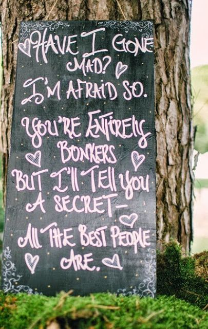 The Wedding Decorator: Alice in Wonderland Wedding - A Few Details!